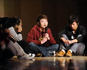 校园心理剧巡演在山西大学举办